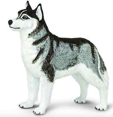 SIBERIAN HUSKY Dog  255229 ~ New for 2017! FREE SHIP/USA w/$25+ Safari, LTD.