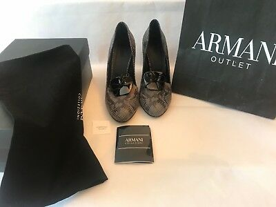 ARMANI women's shoes, high heels. Size 40 UK 7.  Leather 100%