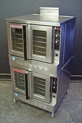 Blodgett Zephaire 100-G Double stack Gas convection oven **Energy Star Certified