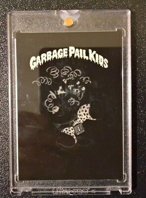Garbage Pail Kids GPK - 1985 Topps Series 1 4-Color Mask Negative! Loony Lenny