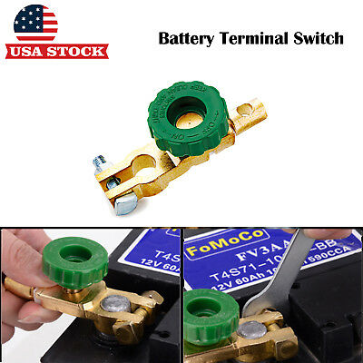 2 x Car Boat Battery Terminal Switch Quick Cut Off Disconnect Master Kill Switch