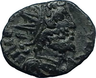 CELTIC Barbarous RADIATE ANCIENT like Roman Coin TETRICUS or VICTORINUS i66196