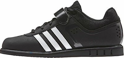 be8227f5502 adidas Powerlift Mens Weightlifting Shoes Crossfit Gym Trainers UK 13 US  13.5