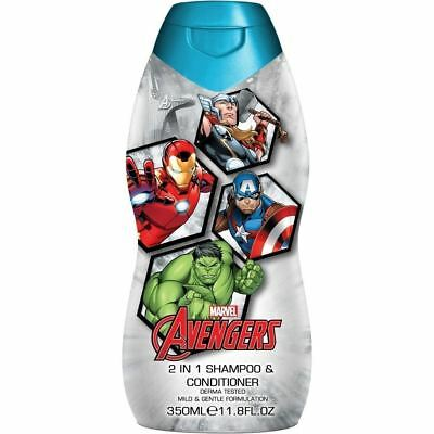Marvel Avengers 2 in 1 Shampoo & Conditioner 350ml 1 2 3 6 12 Packs