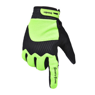 Sport Winter Windproof Riding Gloves TouchScreen Keep Warm Bicycle Glove Green L
