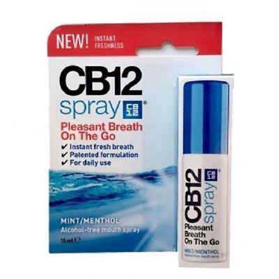 CB12 Spray Mint / Menthol 15ml 1 2 3 6 12 Packs