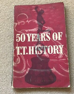 50 Years Of T.t.history / T T Races / Isle Of Man / Motor Cycle / Motorbike