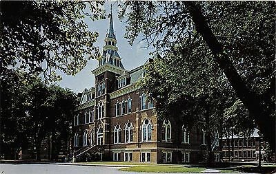 New Ulm Minnesota~Luther College Old Main Building~1950s Postcard