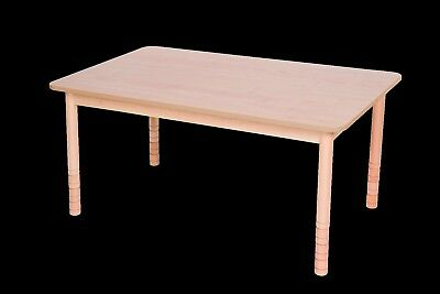 KIDS WOODEN STACKING preschool classroom playgroup table