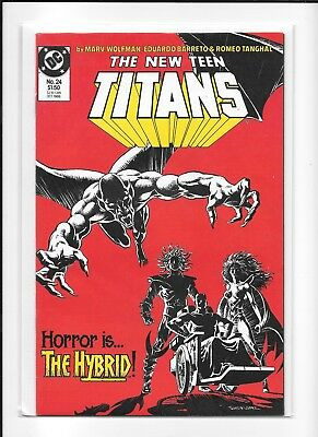 Teen Titans #24 High Grade (9.2+) Dc 1986