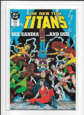 Teen Titans #27 High Grade (9.2/9.4) Dc 1987