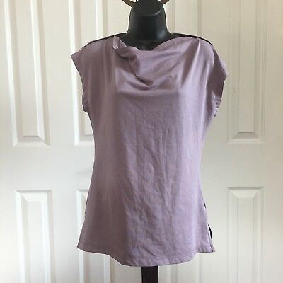 Women's Arc'teryx Cotton Short Sleeve T Shirt Size XS Lavender Purple