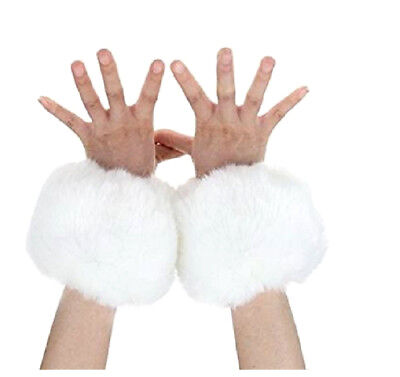 Women's Winter Faux Fur Wrist Cuff Warmers