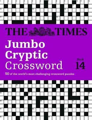 The Times Jumbo Cryptic Crossword Book 14: The world's most challenging...