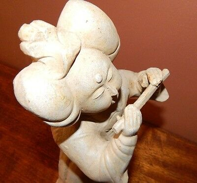 Antique Asian Sculpture.  Cast Iron.