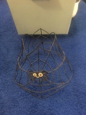 Partylite Spider Candle Shade Halloween