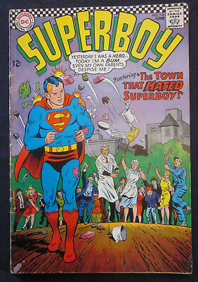SUPERBOY #139 1967 1st Series DC Comics VERY GOOD 4.0 Silver Age