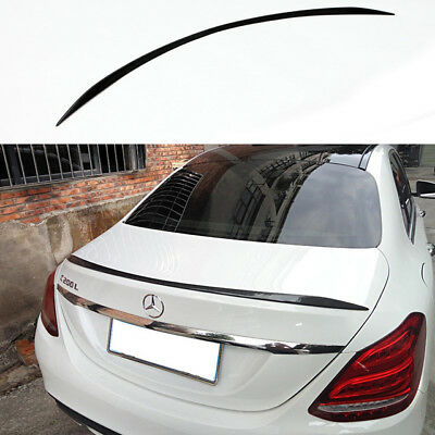 Carbon Fiber Mercedes Benz C-Class W205 4D Saloon 13-18 Boot Lip Spoiler wing