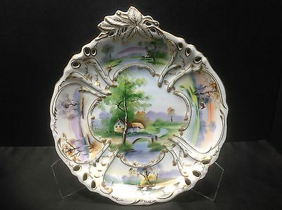 Orientali Porcelain Collectors, Cabinet, Wall Plate G634. NICE