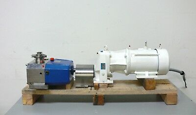 VIKING model S3M Stainless Steel Positive Displacement Pump w/ 5 HP Motor