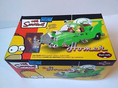 The Simpsons 'the Homer' Snap-Together Model Assembly Kit[2003] BRAND NEW/SEALED