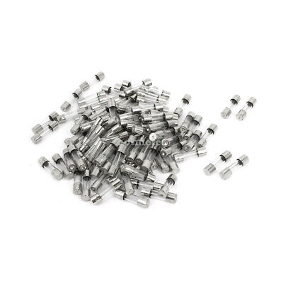 100 Pcs 250 Volts 15Amp Quick Acting Clear Glass Tube Fuses Fast Blow 5mm x 20mm