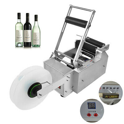 Model MT-50 Semi-automatic Round Bottle Labeling Machine Labeller CECertificated