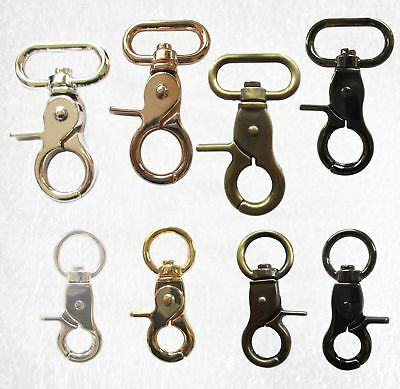 Trigger Snap Hooks - 360 swivel Qty 4