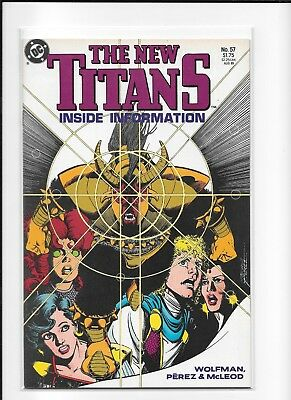 Teen Titans #57 High Grade (8.5) Dc 1989