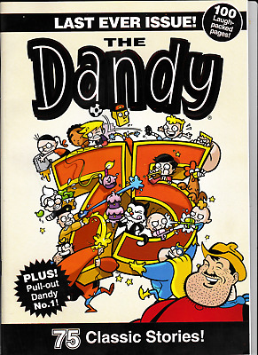 DANDY # 3610 Last Ever Issue 4.12.2012  Final Comic Edition The Dandy #1 repro