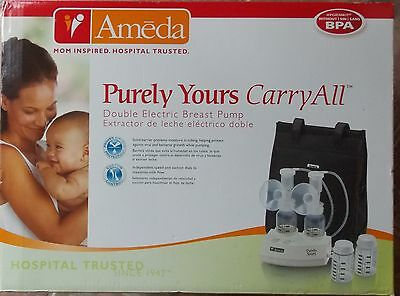 Ameda Purely Yours Carry All Double Electric Breast Pump ~ SEALED
