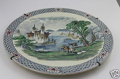 Maling Hand Painted Charger 374/ 238 Limited Edition 29cm Diameter