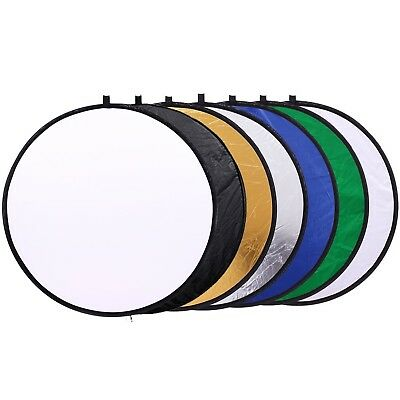 12 inch (30cm) Round Collapsible Mini Light Reflectors for Photography 7-... New