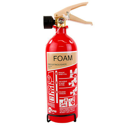 AFFF Foam Fire Extinguisher 2 Litre 2L For Paper Wood Fabric 5A 34B A B Rated