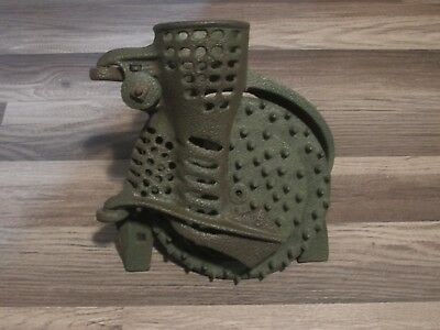 Antique Vintage Cast Iron Never Fail Hand Crank Corn Sheller No Crank