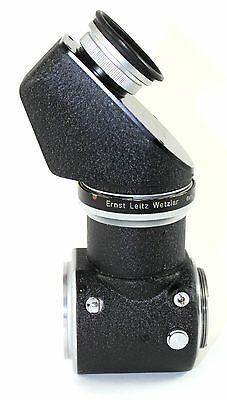 Leitz/Leica Visoflex I with PEGOO and Ground Glass Focusing Mask
