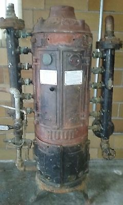 Antique Ruud Tankless Water Heater