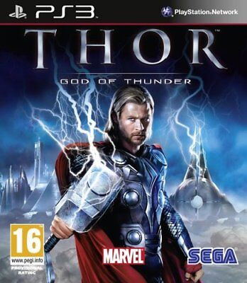 Thor God Of Thunder MARVEL Videogame [UK Import] PS3 Playstation 3 SEGA