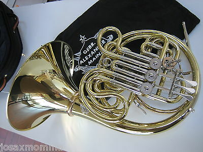 Brand New Alexander 103MAL HG French Horn W/ HAND-HAMMERED BELL, WARRANTY