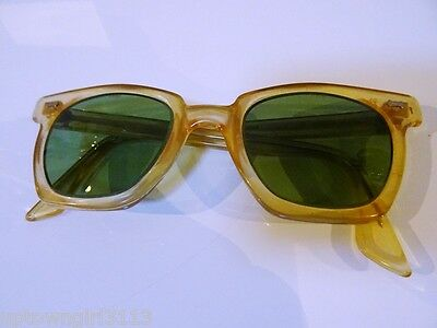 nerd 1950s-60s PARMELEE uk SAFETY SUNGLASSES SPECTACLES industrial STEAMPUNK