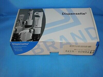 Dispensette Bottle-Top Dispense 0.5Ml-5Ml Ajustable Vol. New W/Papers