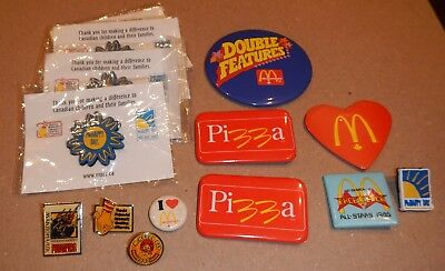 McDonald's Pin Lot of 14 Pizza McHappy Day Ronald House
