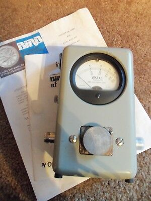 Bird 43 43P PEP Peak Thruline Watt Meter / VERY NICE