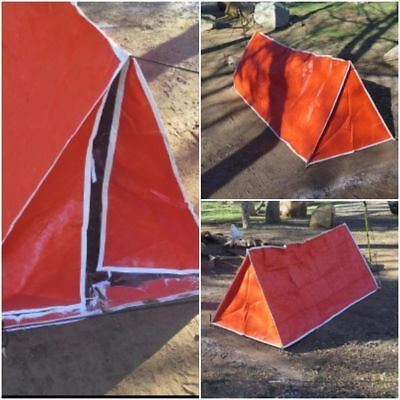 Outdoor Portable Rain C&ing Shelter Best Survival Gear Emergency Tube Tent & TUBE Tent u2022 Emergency Survival Camping Shelter Tarp Waterproof ...