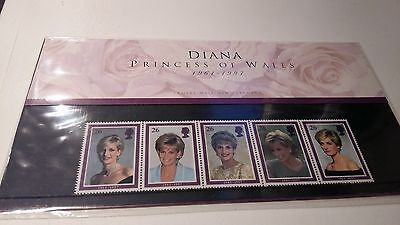 Diana 5-Stamp Presentation Pack Great Britain Mint condition