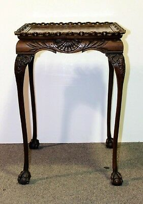 20th C Chippendale Style Mahogany Table