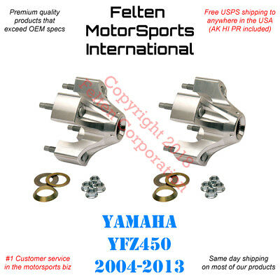 NEW 2 X Vito's Performance REAR HUBS Yamaha Banshee Raptor 660 700