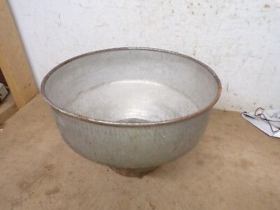 Old Strainer Bowl from Cream Separator for flower pot garden planter