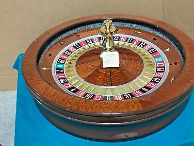 32 Inch Roulette Wheel (Used) #12037   0/00