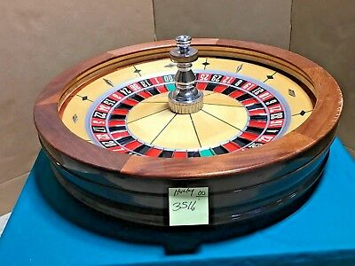 32 Inch Roulette Wheel (Used) #3511o   0/00